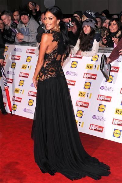 Nicole Scherzinger arrives at the Pride of Britain Awards in London