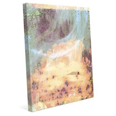 Click Wall Art Urban Wall Fire Rust Graphic Art on Wrapped Canvas Size:
