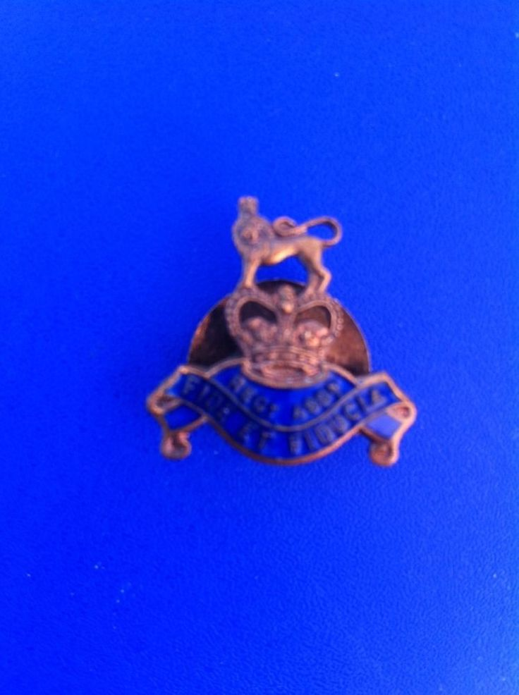 Royal Army Pay Corps Fide Et Fiducia Regiment Association Enamel Lapel Badge  | eBay