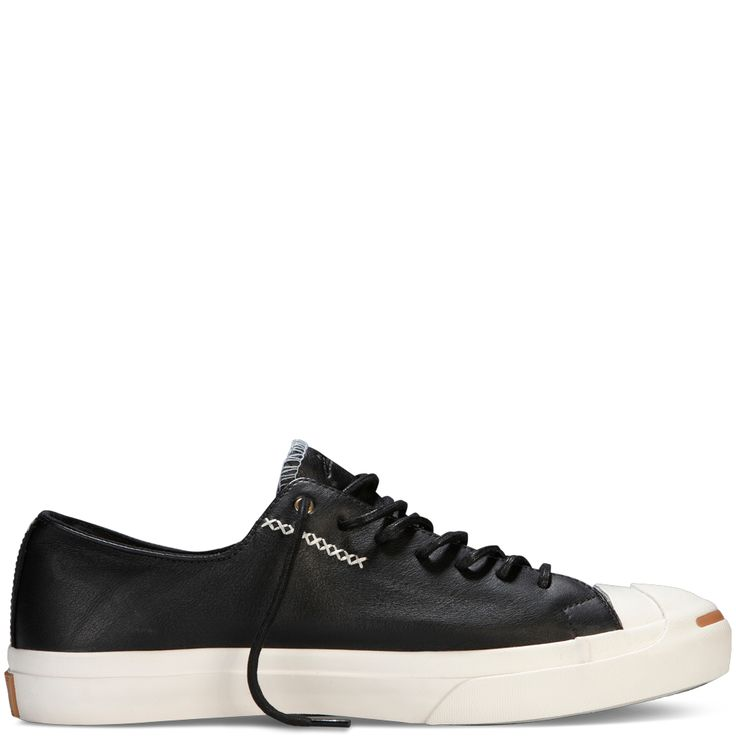 Jack Purcell Cross Stitch Leather black