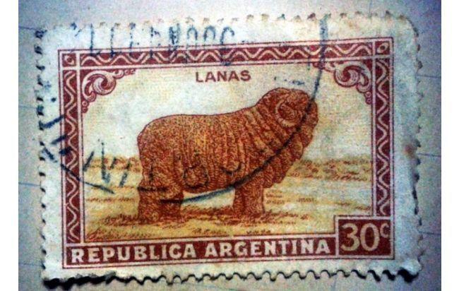 estampillas postales antiguas, Argentina