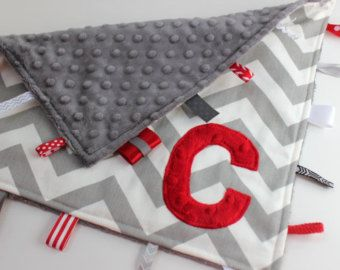 red chevron nursery - For cayden