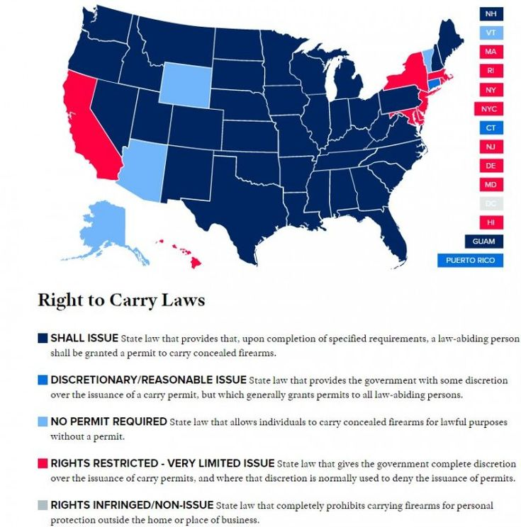 Get  Concealed Carry Map Ideas On Pinterest Without Signing Up - Us carry map