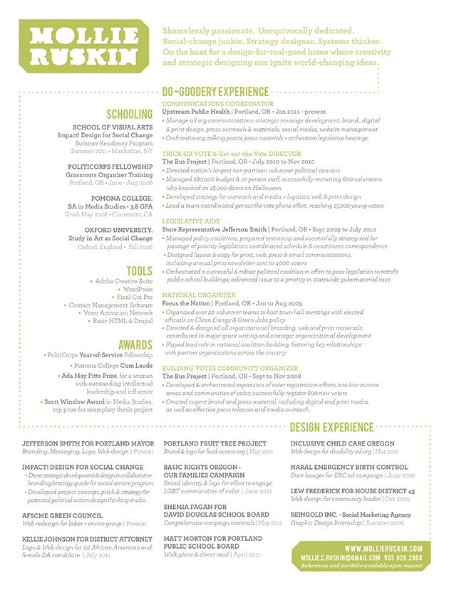 Unique Resume Formats 7 Best Resume Images On Pinterest  Best Resume Format Best