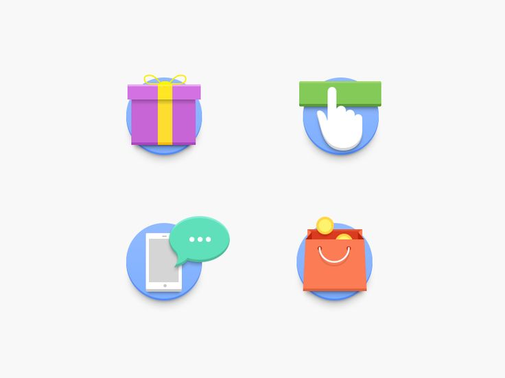 Loyalty Program Icons for Promo Site by Alty  #Design Popular #Dribbble #shots