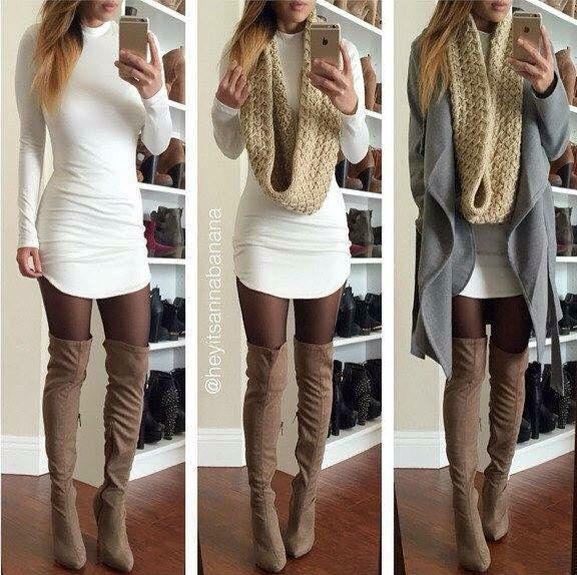 I like it, but a longer, more appropriate dress.