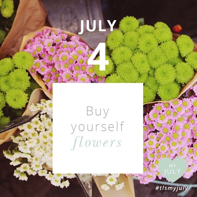 JULY 4: Notice the colour and chakra they link to, the scent, the texture and their beauty. You deserve this! Join in on My July and share your moments!  Read more about My July here: http://www.thelittlesage.com/my-july-2014/ #tlsmyjuly #buyyourselfflowers #nature #chakras #colours #thelittlesage