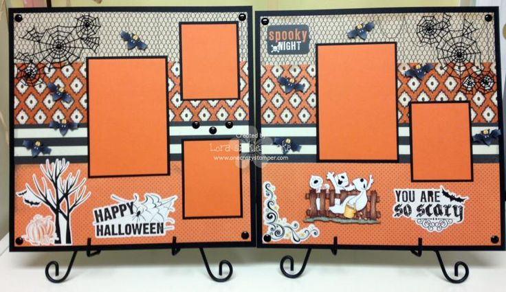 This was a quick and fun layout to make using some great new paper from Carta Bella, MME & new stamps from High Hopes Rubber Stamps.  More details on my blog here if you want to have a peak:  http://www.onecrazystamperblog.com/2014/10/spooky-halloween-fun.html