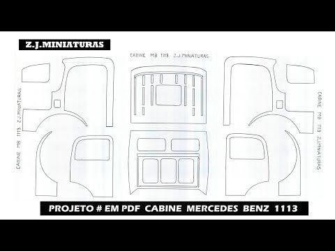 PROJETO # EM PDF CABINE E CHASSIS MERCEDES BENZ 1113