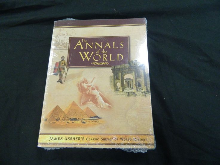The Annals of the World James Ussher with CD-ROM LIKE NEW 2004 fourth printing