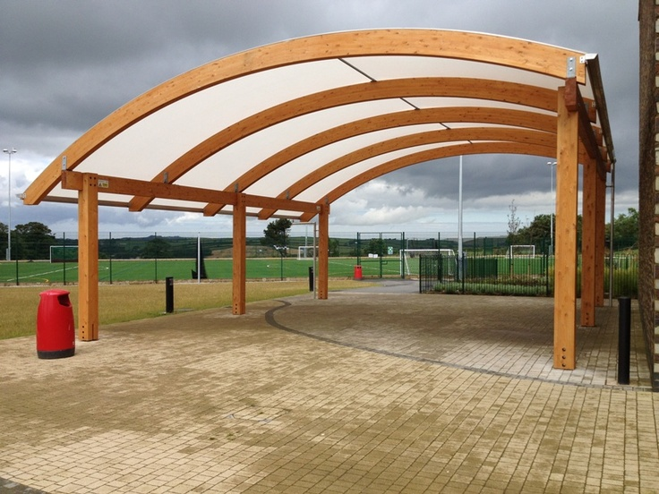 our recently developed large laminated timber canopy...we think itu0027s rather nice & 29 best Timber Canopies images on Pinterest | Canopies Shade ...