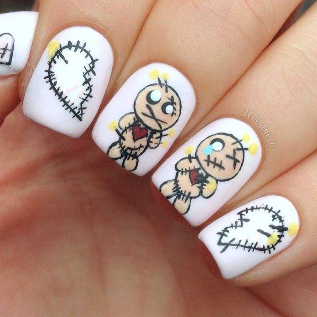 valentine by ane_li #nail #nails #nailart