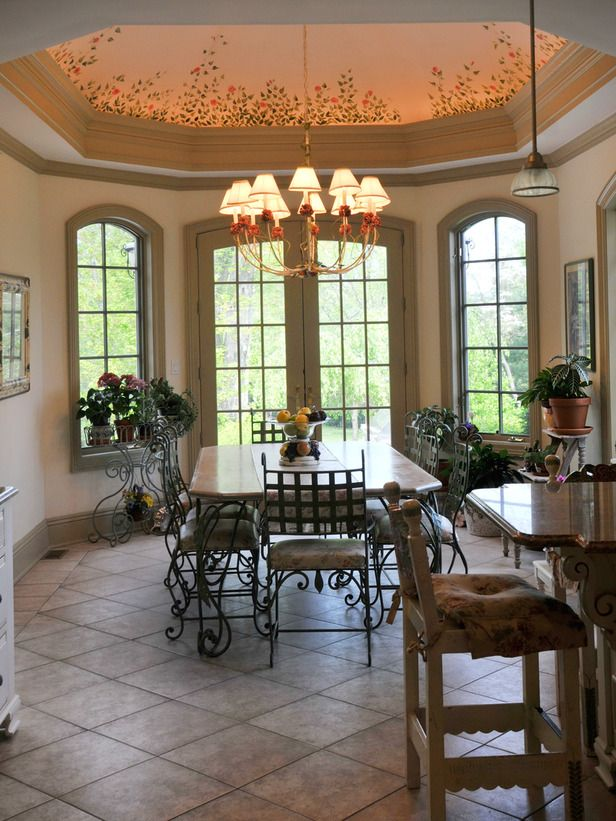 80 best Tray Ceiling Dining room images on Pinterest Ceiling