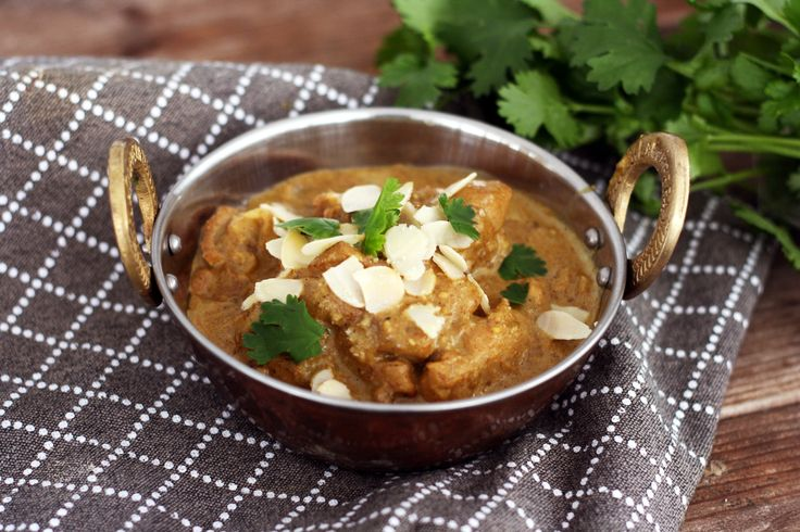 Chicken Korma Creamy chicken korma with a nice twist using cream cheese instead of coconut milk or cream. Extra creaminess - less fat