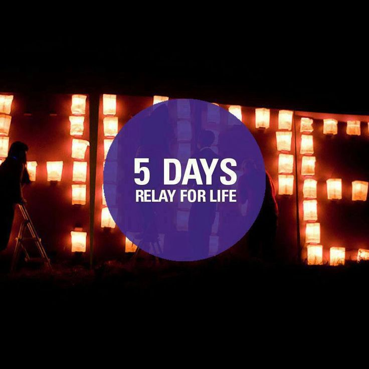 Relay For Life Quotes: 15 Best Images About Relay Count Down On Pinterest