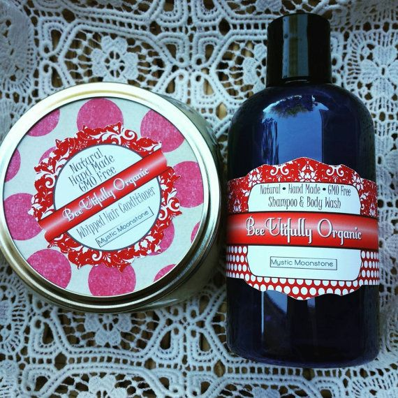 No Poo Shampoo & Conditioner. Hair Care Set. Whipped Conditioner. Hot Oil Treatment. Wavy Hair, Curly Hair, Thin Hair