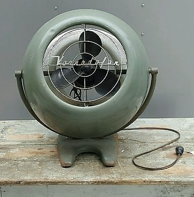 Vornado Model 12D1 Large Vintage Fan (needs Rewired)