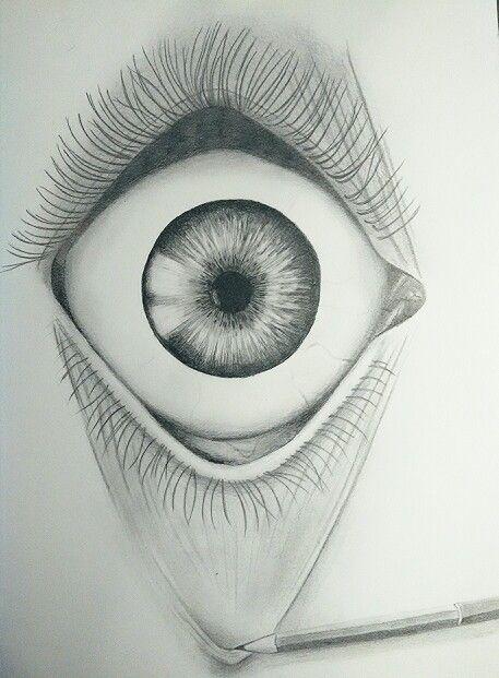 #drawing #pencil #eye