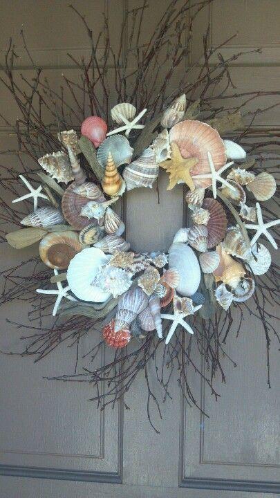 janetmillslove:  Sea shell wreath moment love
