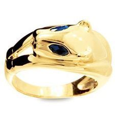 Sapphire Ring - Panther - BEE-25005-SS