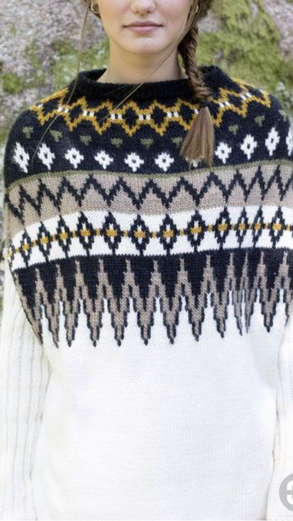 1483 best Fair isle sweater images on Pinterest | Knit sweaters ...