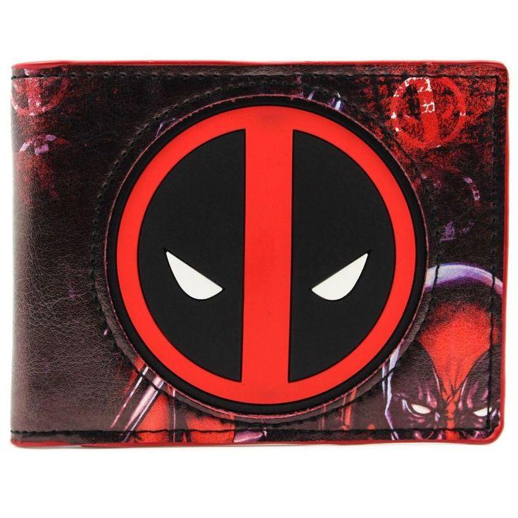 nice Wallet Deadpool Logo Marvel Ultimate Alliance X-Men Legends II  -