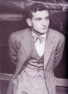 Goffredo Parise a ventidue anni, 1951