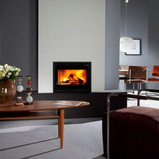 Wanders Square 60 - Wood Burning Fireplace Insert