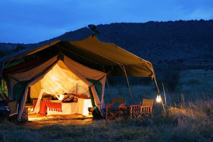 Sanctuary Retreats, la aventura de dormir en la Kenia más virgen - Ir de acampada romántica es posible