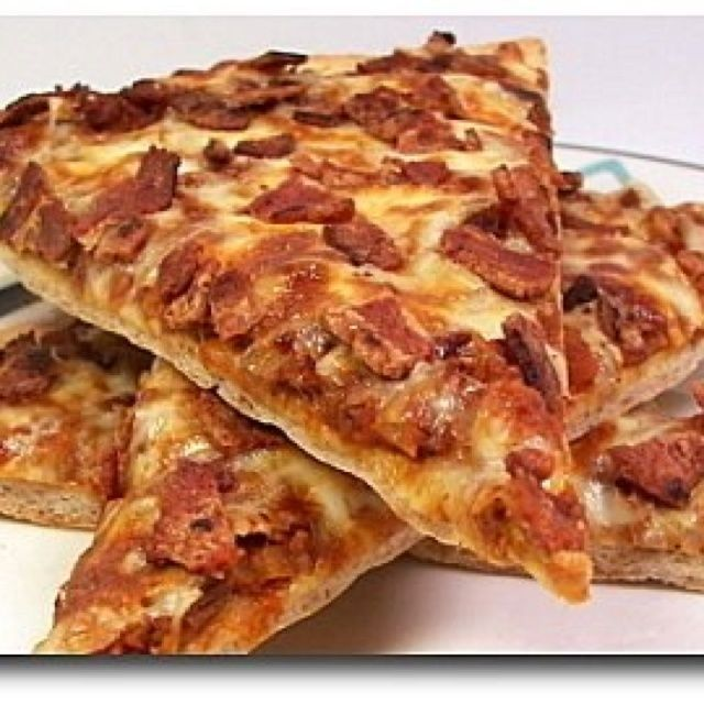 #32 Best Images About Bacon Makes Pizza Better On