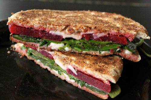 This is straight-up brilliant. Grilled Beet Sandwiches!