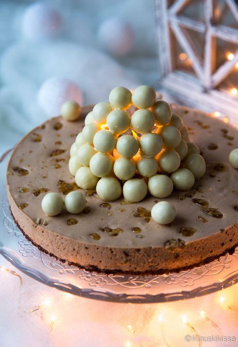 Lumilyhtykakku. #kakku #resepti #leivonta #joulu