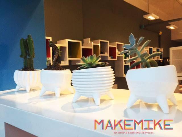 """""""Molcajete""""+Flowerpot+Line+by+MAKEMIKE."""