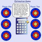 This is an interactive Smartboard file containing 4 math games.   Pg 1 Estimation Game Pg 2 Making Arrays Pg 3 Hidden Shape Game (coordinates) Pg 4...
