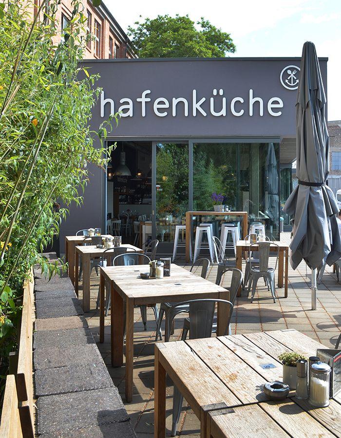 Die Hafenküche in Berlin, tolles Restaurant und Biergarten an der Rummelsburger Bucht.