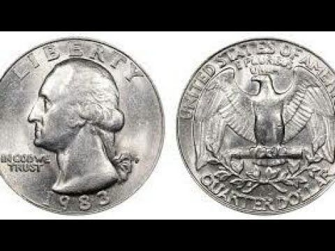 How Valuable are 1983 Quarters? - Newly Minted Coins Are