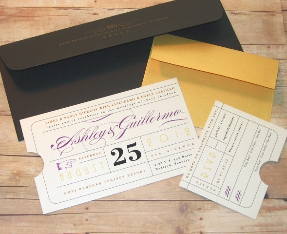 1000 ideas about Ticket Theatre – Theatre Ticket Wedding Invitations