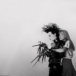 """Kim: Hold me/Edward: I can't."" - Edward Scissorhands (1990)"