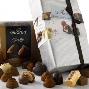 Gudrun Chocolates - Featured Chocolate January 2014 #chocolate #belgian #truffles