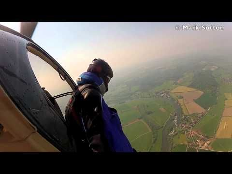 Here a video from Gary's cameraman's POV angle Gary Connery's Wingsuit Landing without using a Parachute