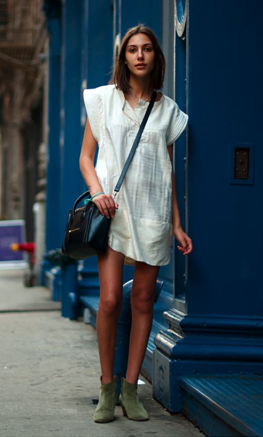 all time: Street Fashion, Summer Dresses, Casual Style, Dresses Boots, Street Style, Fashion Blog, Isabel Marant, The Mode, Little White Dresses