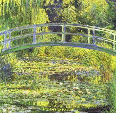Water Lily Pond- Claude Monet