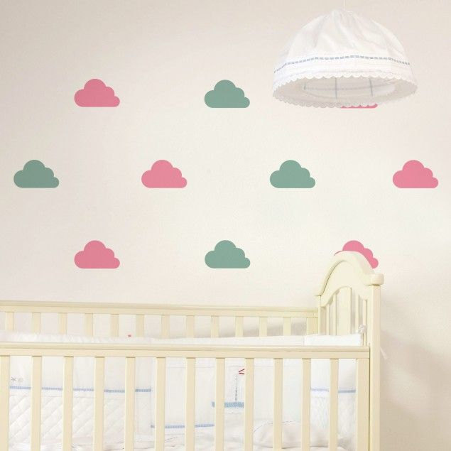 36 best images about kinderzimmer neuheiten deco 4 kids - Wolken kinderzimmer ...