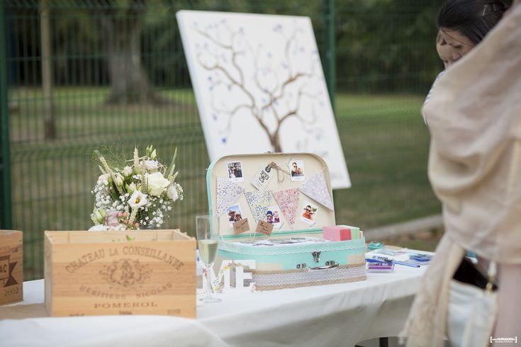 Les photos du magnifique mariage de L & F dans le pays libournais avec un superbe cocktails dans les jardins du Chateau Eygreteau à Coutras. Sébastien Huruguen photographe de mariage à Bordeaux.