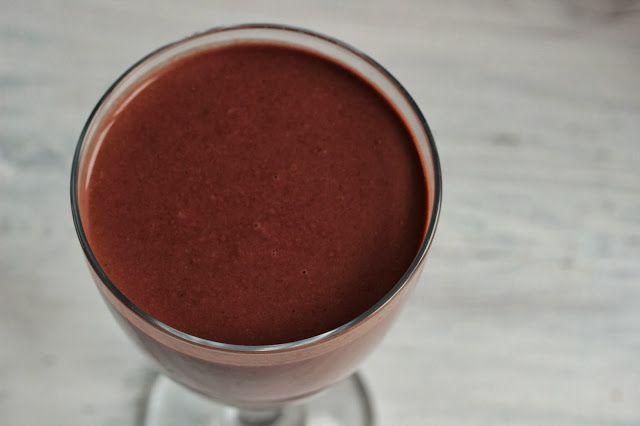 Veselé Borůvky: Čokoládové smoothie s makovým mlékem