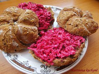 Martinina kuchyně: Pomazánka s červenou řepou