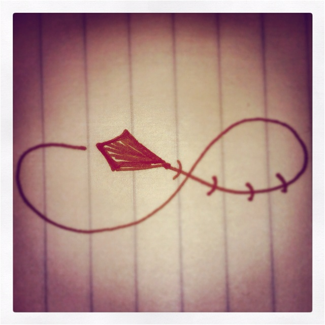 To infinity and beyond:) this would be a cute tattoo