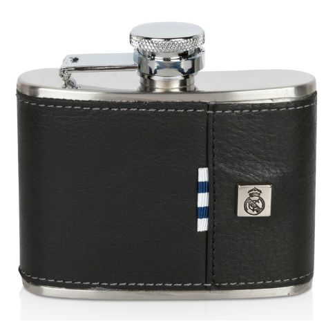 real madrid leather hip flask Real Madrid Official Merchandise Available at www.itsmatchday.com