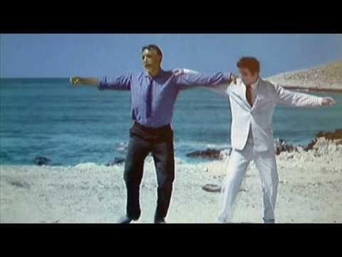 Mikis Theodorakis - Zorba's Dance in colour version from the film Zorba the Greek