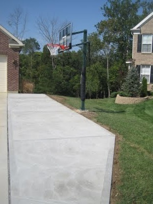 Growing up, just about everyone had a basketball goal in their driveway.